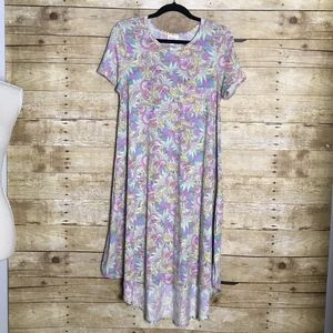 LULAROE CARLY PASTEL COLORS NWOT SIZE SMALL